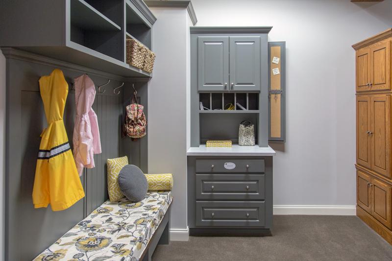 Drop Zone Custom Cabinets Photo Gallery Mudroom