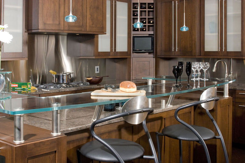 Northland cabinets maple grove showroom photos - Sleek kitchen world ...