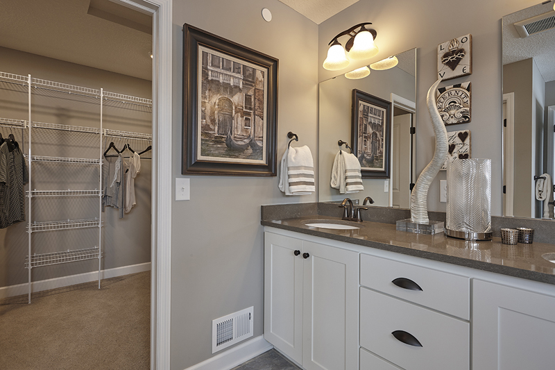 Custom Built Bathroom Cabinetry From Northland Cabinets In The Twin - Bathroom vanities twin cities